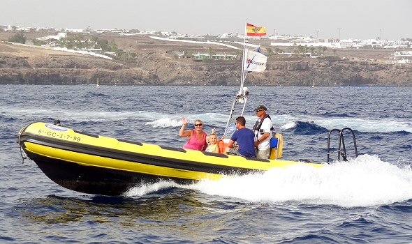 Lanzarote Powerboat